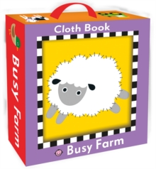 Busy Farm Cloth Book, Rag book