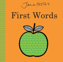 Jane Foster's - First Words, Board book