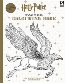 Harry Potter Poster Colouring Book, Paperback