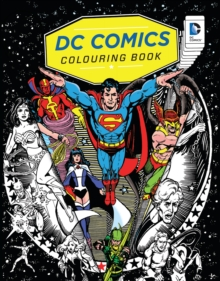 DC Comics Colouring Book, Paperback