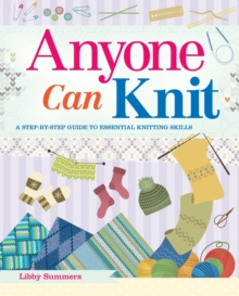 Anyone Can Knit, Paperback