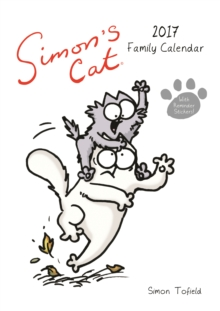 Simon's Cat A3 Family Calendar, Calendar