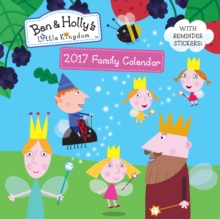 Ben and Holly SQ Family Calendar, Calendar