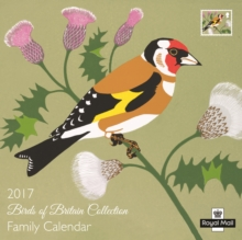Royal Mail 'Birds of Britain' SQ Family Calendar, Calendar