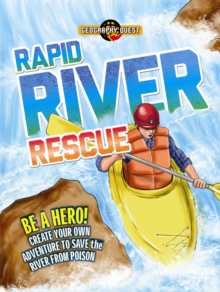 Geography Quest: Rapid River Rescue, Paperback