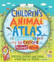 Children's Animal Atlas, Hardback