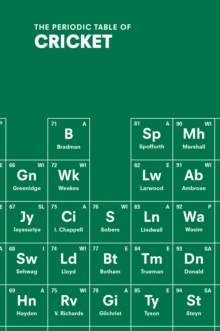 The Periodic Table of Cricket, Hardback