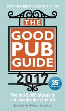 The Good Pub Guide 2017, Paperback
