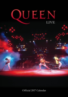 Queen Official 2017 A3 Calendar, Calendar