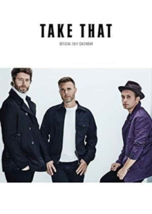 Take That Official 2017 A3 Calendar, Calendar