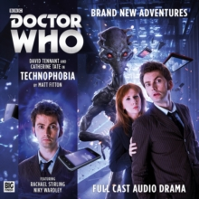 Technophobia : Tthe Tenth Doctor  Part 1, CD-Audio