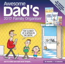 AWESOME DADS FAMILY ORGANISER P W 2017,