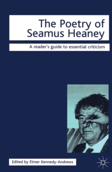 The Poetry of Seamus Heaney, Paperback Book