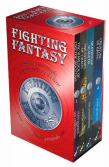 Fighting Fantasy Box Set : (Warlock of Firetop Mountain, Citadel of Chaos, Deathtrap Dungeon, Creature of Havoc), Paperback