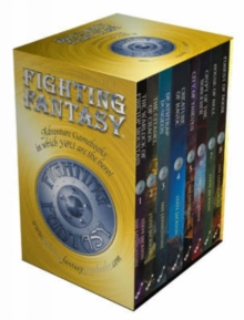 Fighting Fantasy Box Set : Gamebooks 1-8 (Warlock of Firetop Mountain, Citadel of Chaos, Deathtrap Dungeon, Creature of Havoc, City of Thieves, Crypt of the Sorcerer, House of Hell, Forest of Doom), Paperback