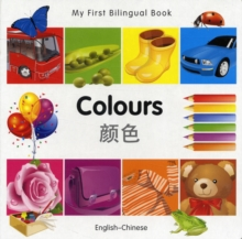 My First Bilingual Book - Colours, Board book