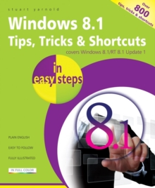 Windows 8.1 Tips Tricks & Shortcuts in Easy Steps, Paperback Book