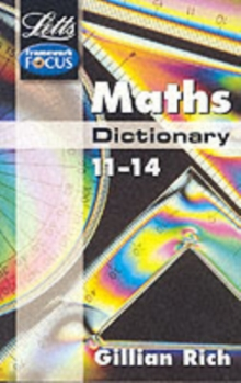Letts Key Stage 3 Subject Dictionaries : Maths Dictionary Age 11-14, Paperback