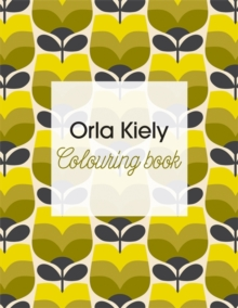 Orla Kiely Colouring Book, Paperback