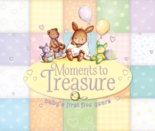 Moments To Treasure : Baby Album and Record Book with Keepsake Memory Box, Record book