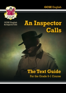 GCSE English Text Guide - An Inspector Calls, Paperback Book