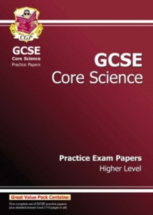 GCSE Core Science Practice Papers - Higher (A*-G Course), Paperback