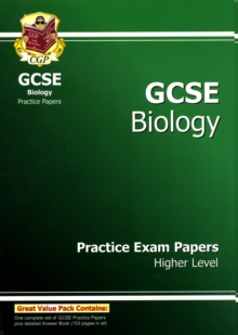 GCSE Biology Practice Exam Papers - Higher (A*-G Course), Paperback