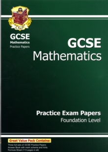 GCSE Maths Practice Papers - Foundation (A*-G Resits), Paperback