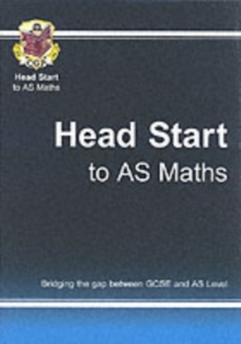 Head Start to AS Maths, Paperback