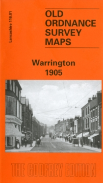 Warrington 1905 : Lancashire Sheet 116.01, Sheet map, folded Book