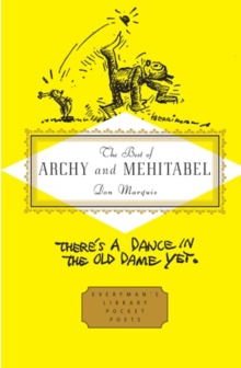 The Best of Archy and Mehitabel, Hardback