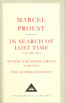 In Search of Lost Time : v. 2, Hardback