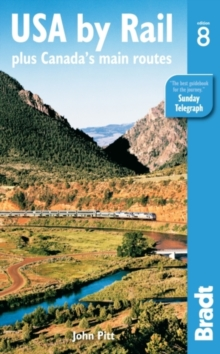 USA by Rail : Plus Canada's Main Routes, Paperback