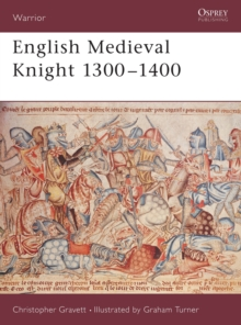 English Medieval Knight 1300-1400, Paperback Book