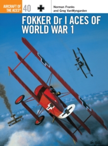 Fokker Dr 1 Aces of World War I, Paperback