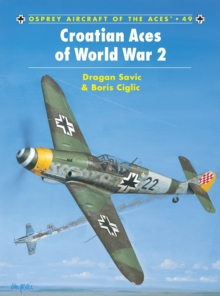 Croatian Aces of World War 2, Paperback