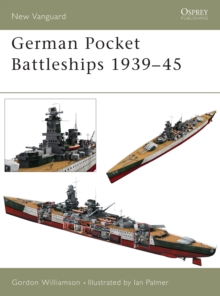 German Pocket Battleships 1939-45, Paperback