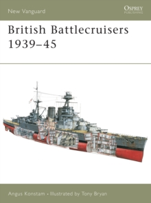 British Battlecruisers 1939-45, Paperback Book