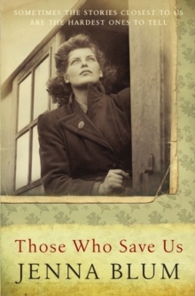 Those Who Save Us, Paperback