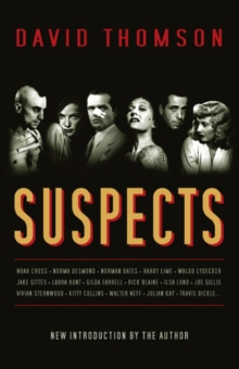 Suspects, Paperback Book