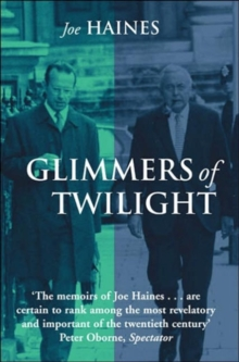 Glimmers of Twilight : Harold Wilson in Decline, Paperback