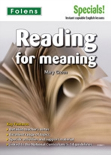 Secondary Specials!: English - Reading for Meaning (11-14), Paperback