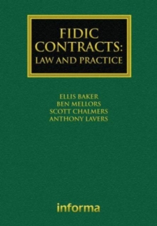 FIDIC Contracts : Law and Practice, Hardback