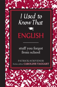 I Used to Know That : English, Hardback