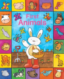 Sparkly Learning : First Animals, Board book