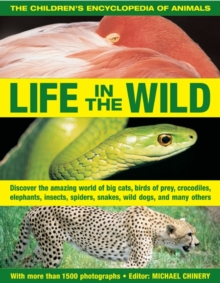 The Children's Encyclopedia of Animals: Life in the Wild : Discover the Amazing World of Big Cats, Birds of Prey, Crocodiles, Elephants, Insects, Spiders, Snakes, Wild Dogs, and Many Others, Paperback Book