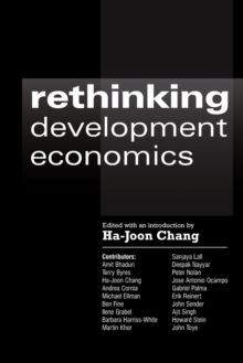 Rethinking Development Economics, Paperback Book