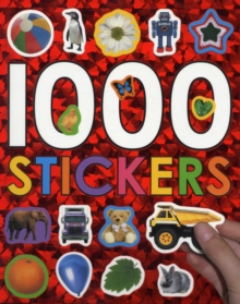 1000 Stickers, Paperback Book