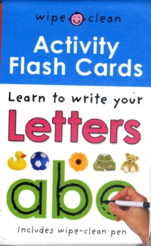 Wipe Clean Activity Flash Cards ABC, Cards