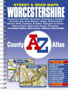 Worcestershire County Atlas, Paperback